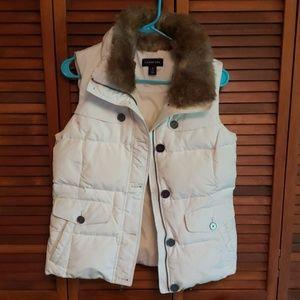 Lands end coat vest